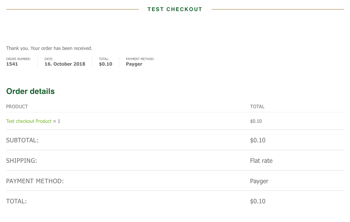 Payger-Checkout-payment-test-product